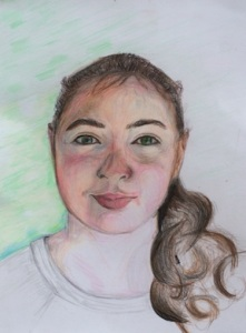 Third place winner, 2014, Aine P., grade 8